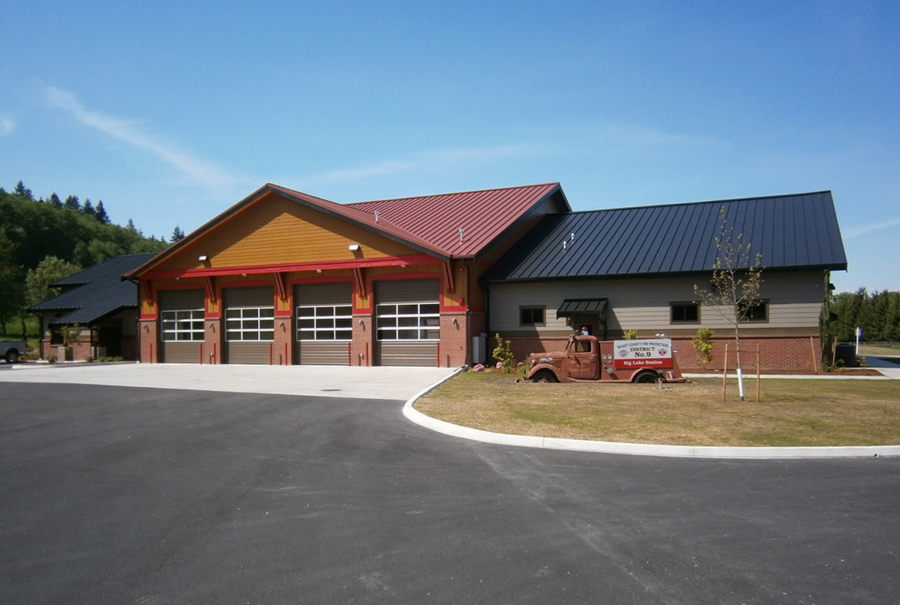Big Lake Fire Station